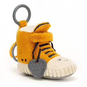 Jellycat Amuseable Kicketty Sneaker activity toy