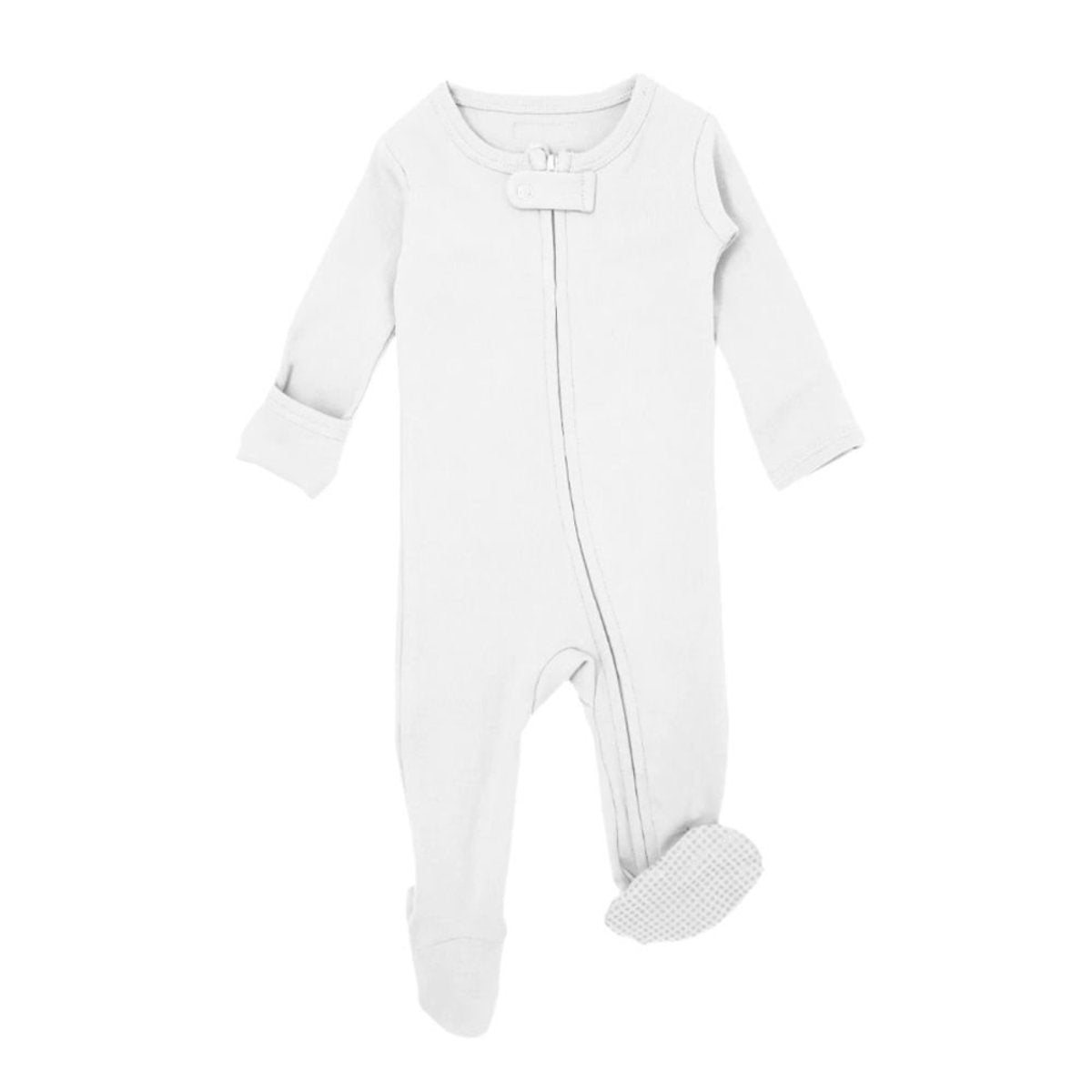 "Loved Baby Footed Sleeper ""White"""