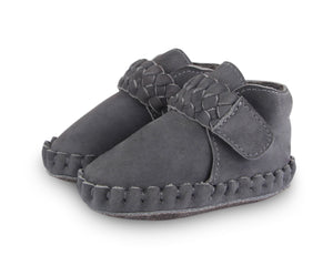 "Donsje Fons Braided Shoes ""Grey"""