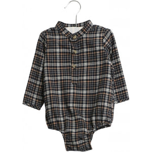 "Wheat Romper Shirt Victor ""Navy"""