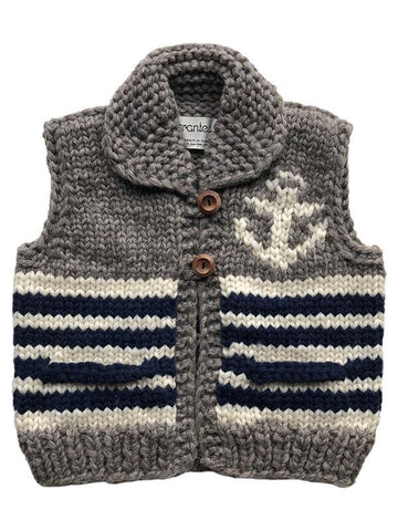 "Granted Sweater Vest ""Anchor"""