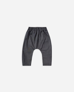 "Rylee and Cru Harem Pant ""Indigo Stripe"""