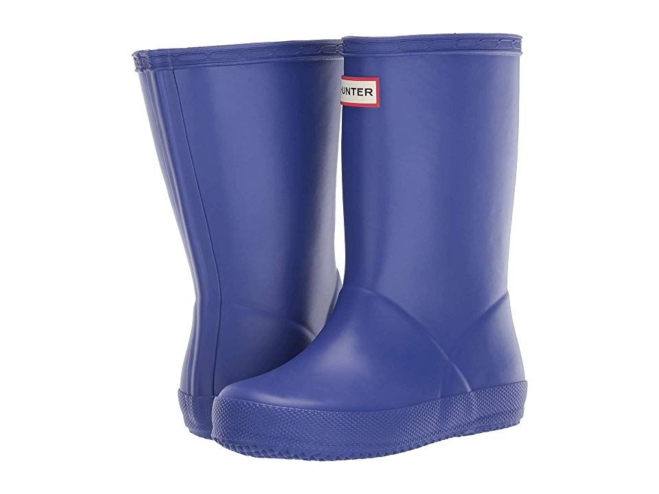 "Hunter Boots Kids First Classic ""Electric Storm"""