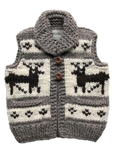 "Granted Sweater Vest ""Deer"""