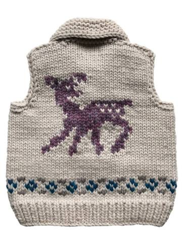 "Granted Sweater Vest ""Fawn"""