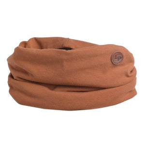 "LP Boston Cotton Scarf ""Caramel"""