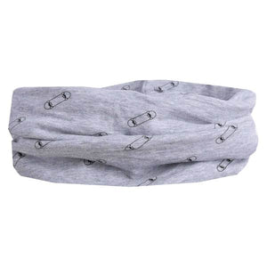 "LP Boston Cotton Scarf ""Skate/Gray"""