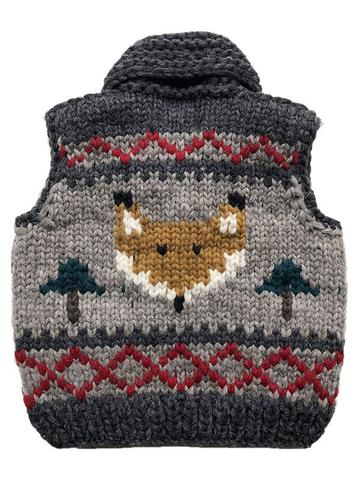 "Granted Sweater Vest ""Fox"""