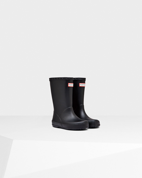 "Hunter Boots Kids First Classic ""Yellow"""