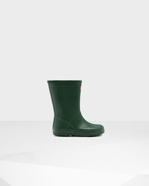 "Hunter Boots Kids First Classic ""Black"""