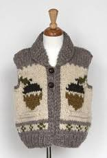 "Granted Sweater Vest ""squirrel"""