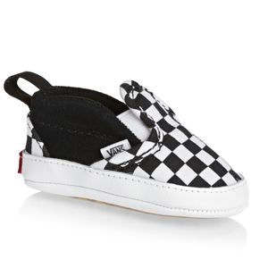 Vans Slip-On V Crib Shoes Checker