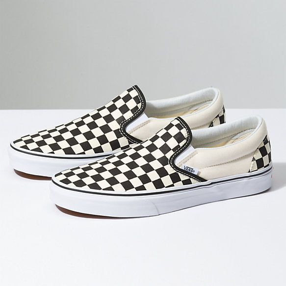 Vans Classic Slip-On Black/White Checkerboard