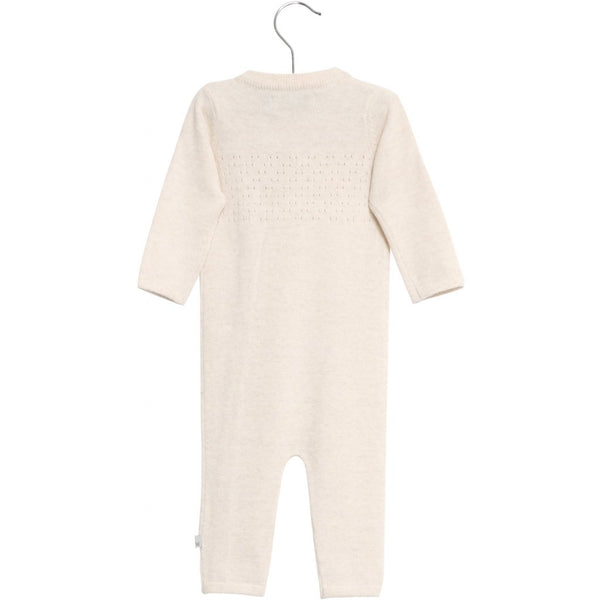 Wheat 100% Merino Wool Jumpsuit