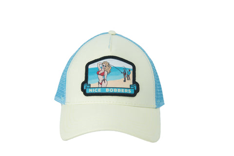 Nice Bobbers Hat Yellow/Blue