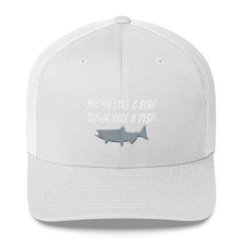 Drink Like A Fish Trucker Cap
