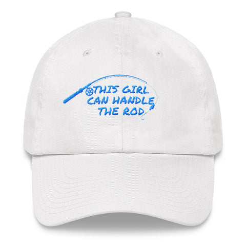 This Girl Can Handle A Rod hat (Blue)