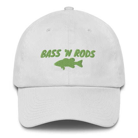 Bass 'N Rods Cotton Hat