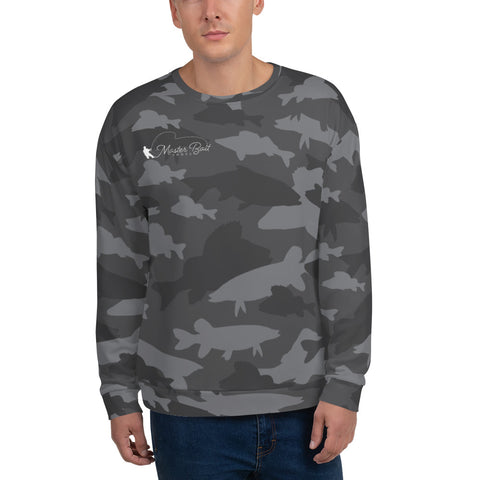 Fish Camo Logo Sweatshirt
