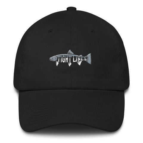Tight Lines Steelhead Dad Hat