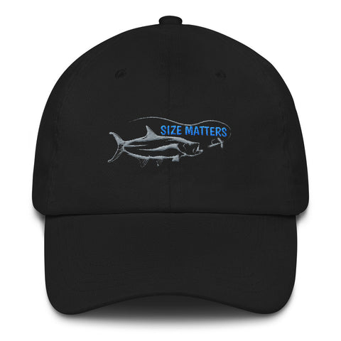 Size Matters Dad hat