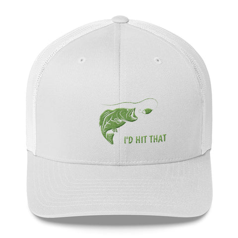 I'D HIT THAT BASS Trucker Cap