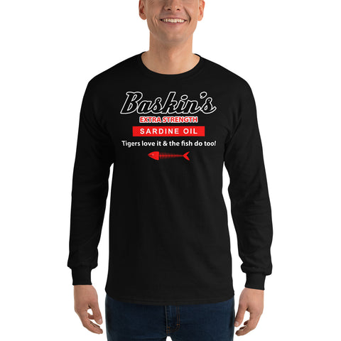 Baskin's Sardine Oil Men's Long Sleeve Shirt