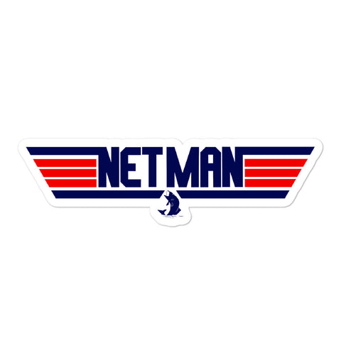 Net Man Sticker