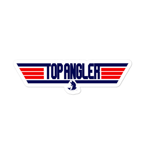 Top Angler Sticker