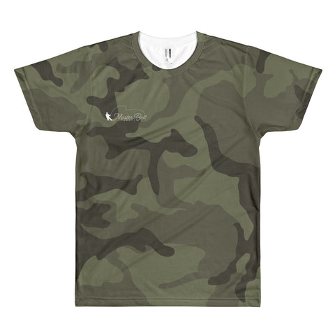 Master Bait Shops Camo Logo Short sleeve men's t-shirt
