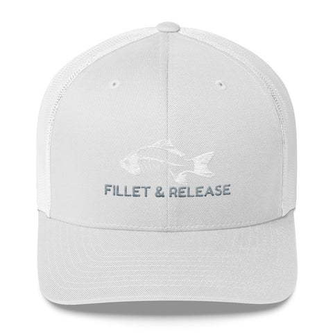 Fillet And Release Trucker Cap