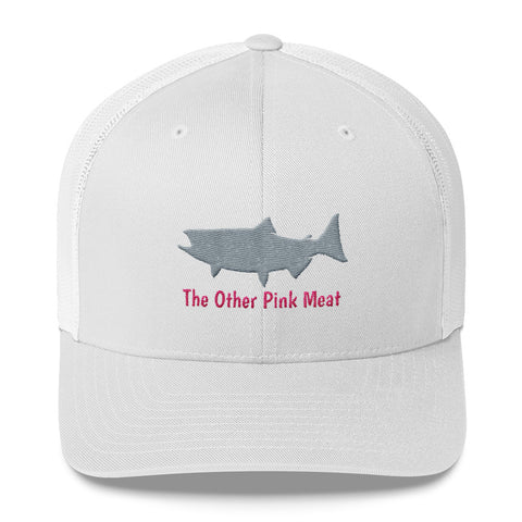 Salmon The Other Pink Meat Trucker Cap