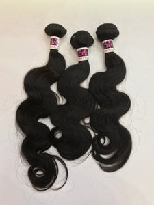 "Brazilian Loose Bodywave Bundle 24"" to 30"""