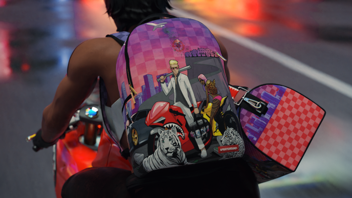 SPRAYGROUND LAUNCH NEW INNOVATIVE COLLECTION WITH 3D COMPUTER ANIMATED MODELS DURING CORONAVIRUS LOCKDOWN