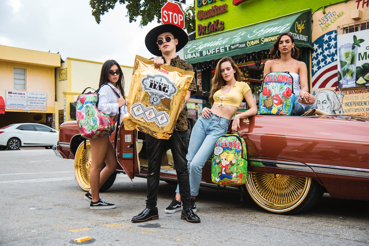 Sprayground's New Spring Collection Features A Mystery Money Pack