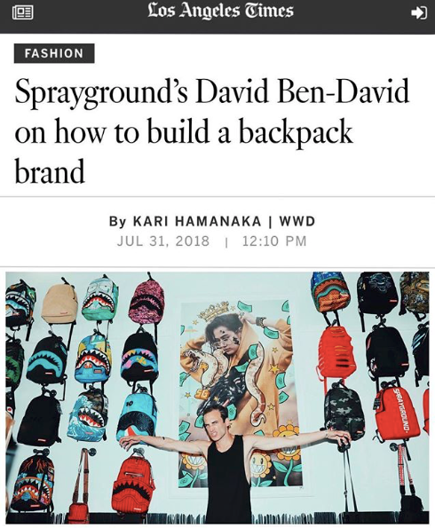 Our LA Pop-Up Shop Made It To The Los Angeles Times!