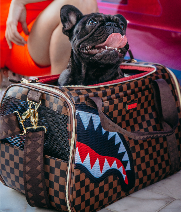 NOW PETS CAN TRAVEL IN STYLE WITH THE LAUNCH OF OUR FIRST-EVER PET CARRIERS