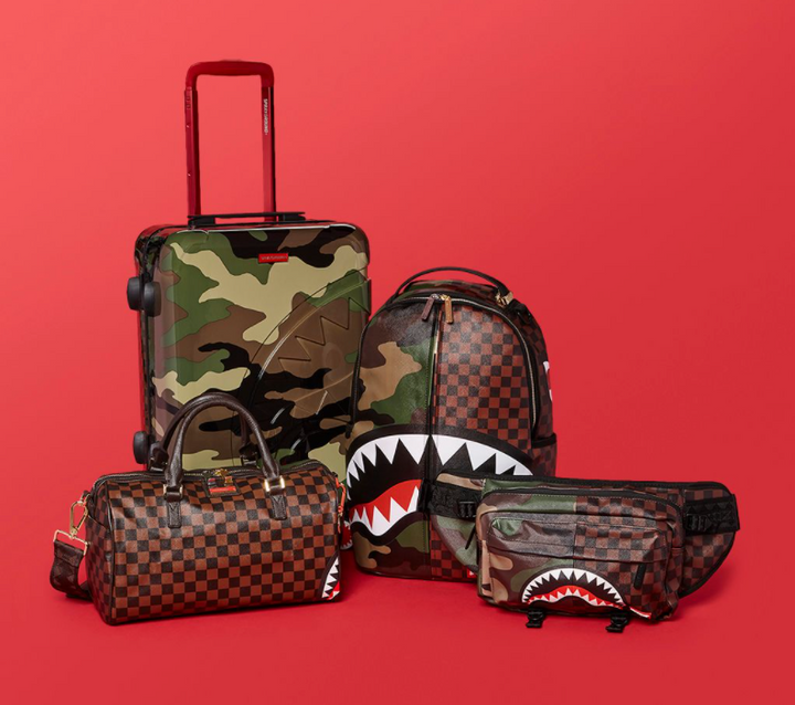 HOLIDAY TRAVEL JUST GOT EVEN MORE FUN WITH SPRAYGROUND'S LATEST LUXURY LUGGAGE LAUNCH