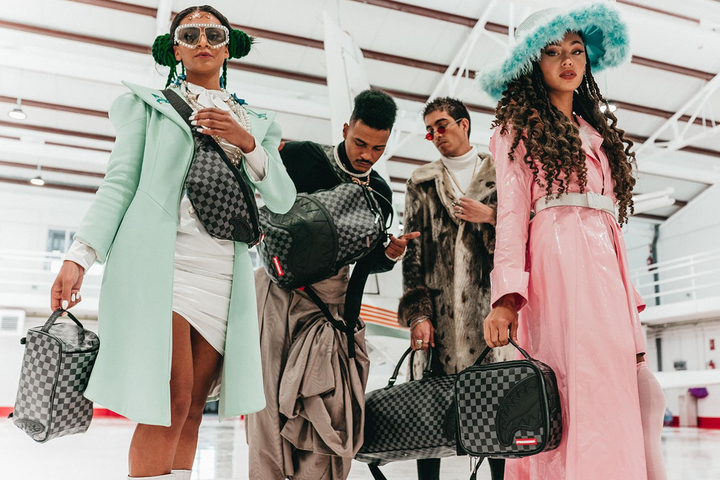STEP INTO 2021 WITH SWAG WITH SPRAYGROUND'S LIMITED EDITION BLACK HENNY 10-PIECE TRAVEL COLLECTION