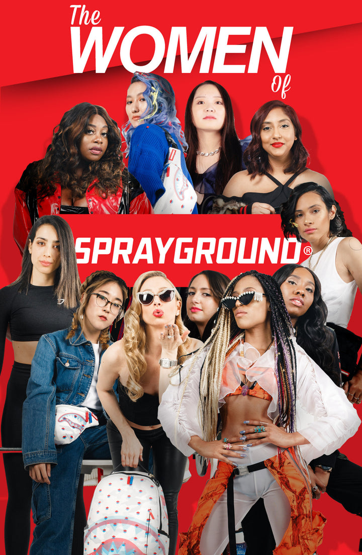 """Sprayground"" Is Celebrating Its Female Staff"