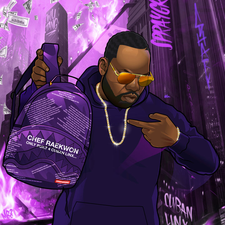 NEW DROP: WU-TANG CLAN'S RAEKWON 'THE PURPLE TAPE' BAG INSPIRED BY TWO DECADES OF MUSIC