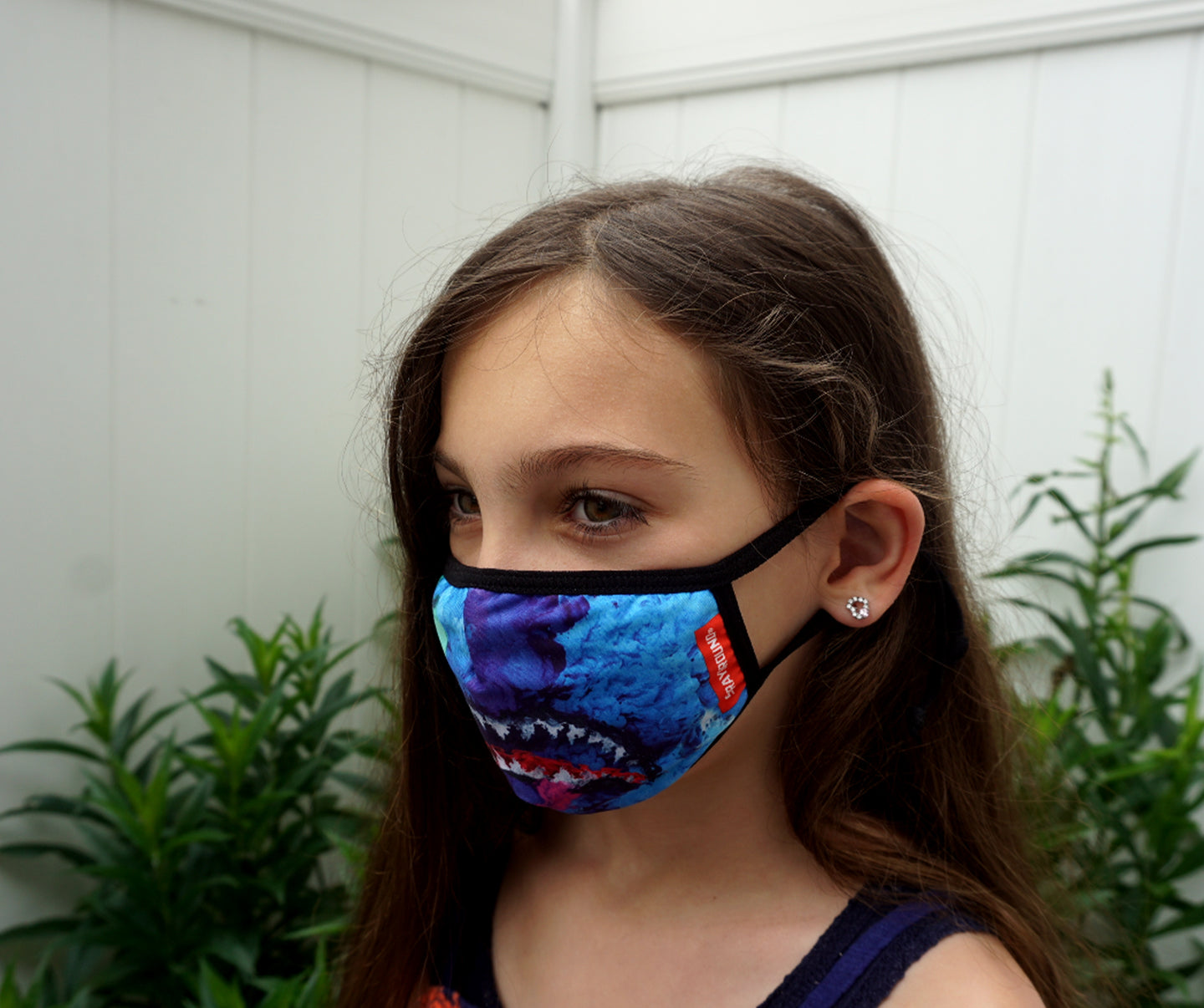 KIDS FACE MASKS W/ UPGRADED EAR ADJUSTERS & NOSE GRIP