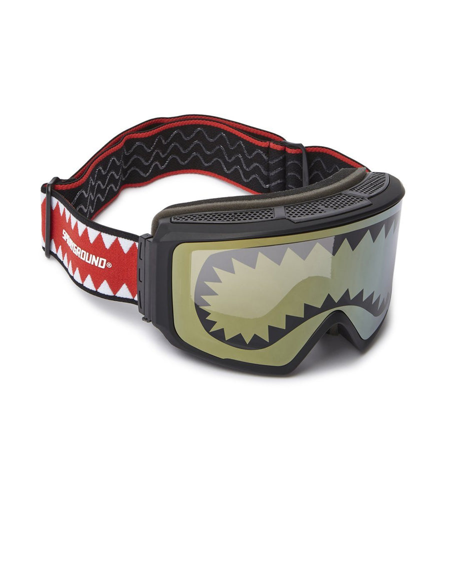 SPRAYGROUND SHARK GOGGLES WITH 3 INTERCHANGEABLE LENS