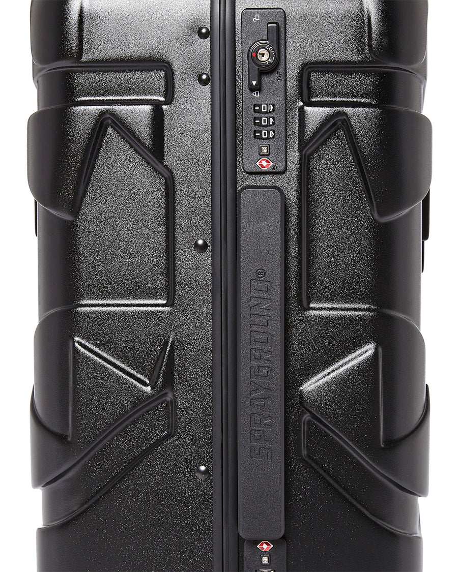 "SHARKITECTURE MOLDED 22"" CARRY-ON LUGGAGE"