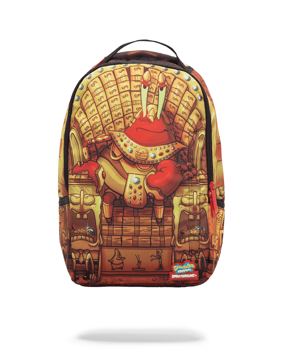 SPRAYGROUND- SPONGEBOB MR. KRABS PHAROAH BACKPACK