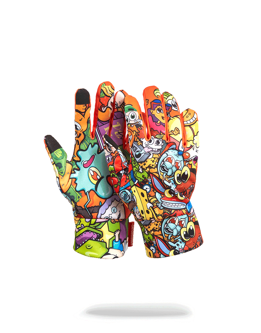SPRAYGROUND- ANIME NICK GLOVES GLOVES