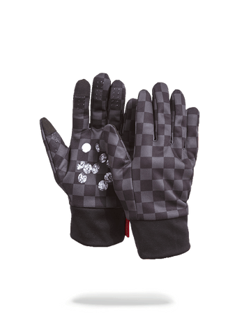 SPRAYGROUND- DIAMONDS IN PALM GLOVES GLOVES