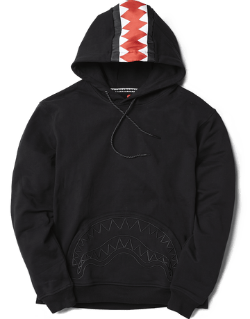 SPRAYGROUND- SHARK TRACKS HOODIE APPAREL
