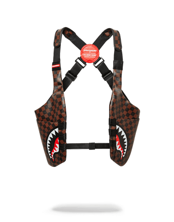 SPRAYGROUND- SIDE SHARKS IN PARIS SHOULDER PACK HOLSTER