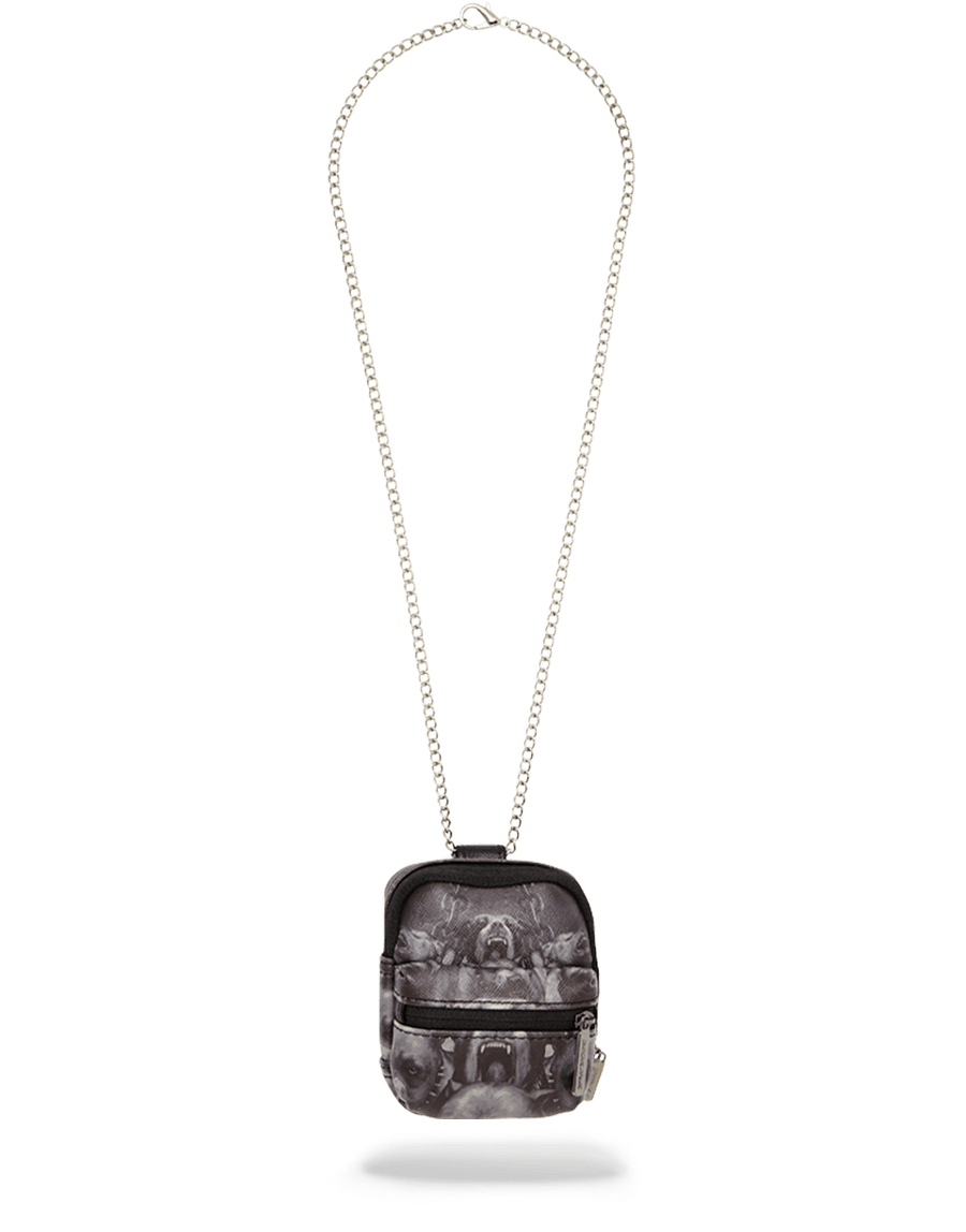 SPRAYGROUND- PITBULLS BACKPACK CHAIN NECKLACE